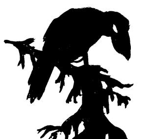 Rodung Kreuzung Lichtung Logo