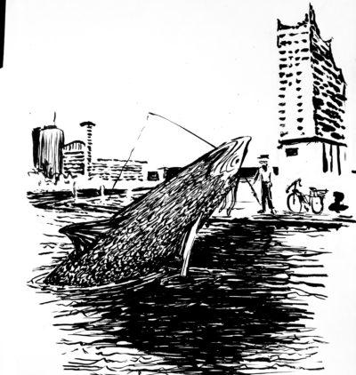 Der Butt und der Fischer