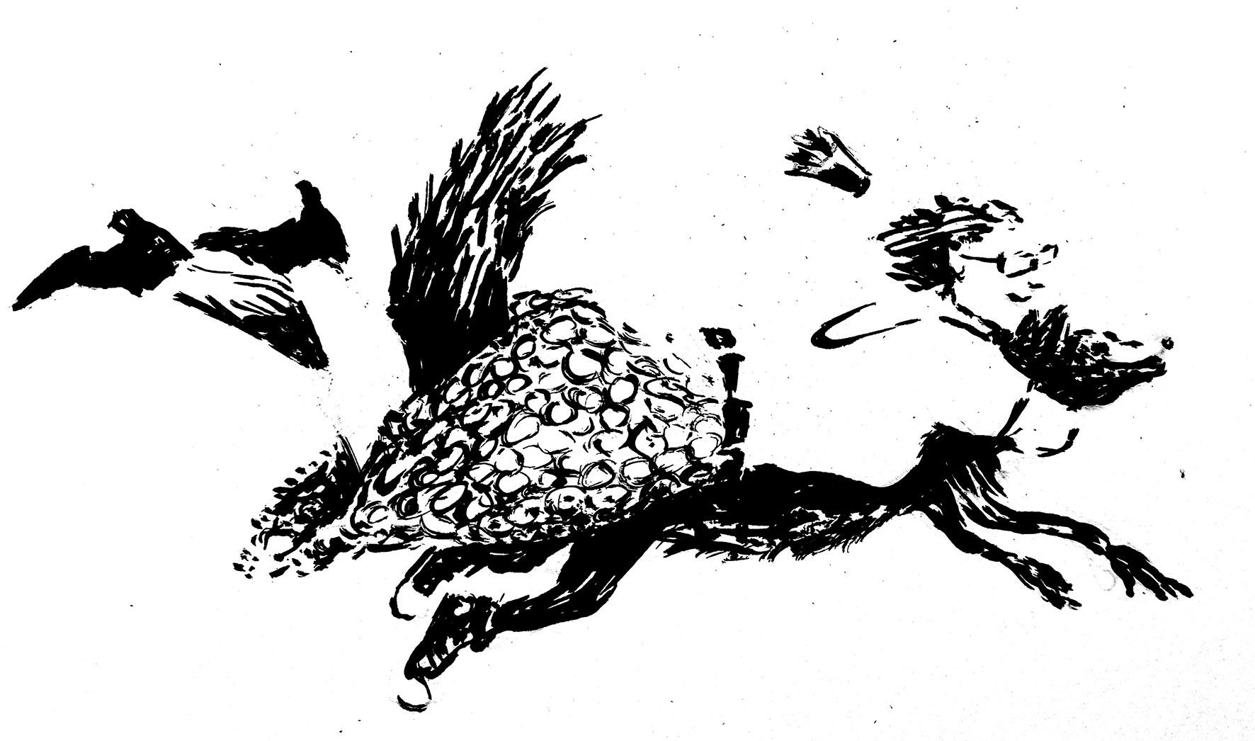 Ritt auf dem Fuchsschwanz