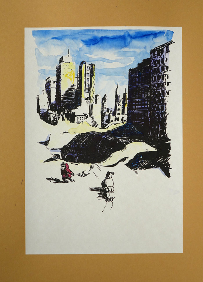 Frau Holle, New York, The day after tomorrow, rodeln
