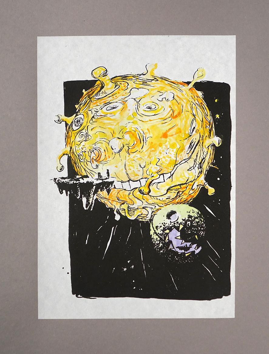 Sieben Raben, Sonne, Mond, Kleines Mädchen