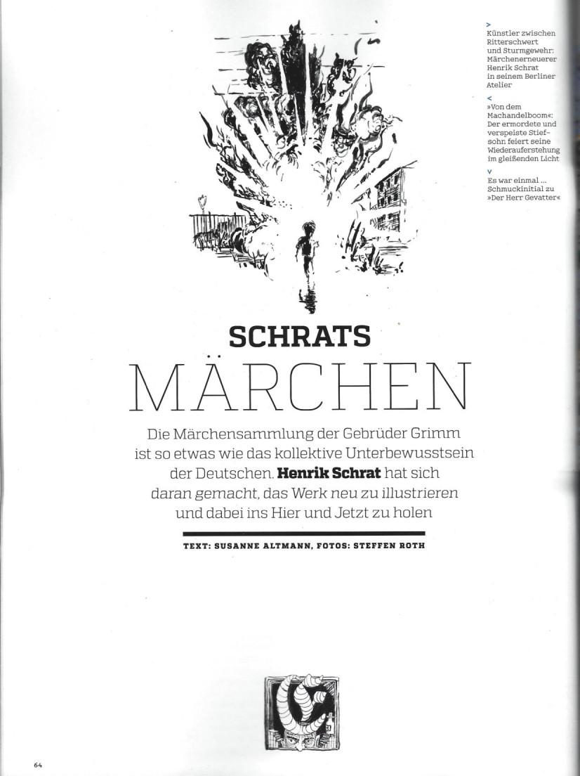 art Kunstmagazin Schrat Grimm