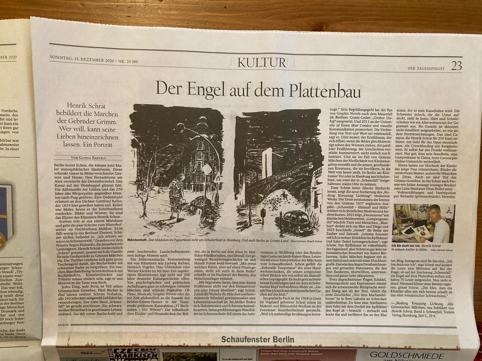 Schrat Tagesspiegel Grimms Märchen
